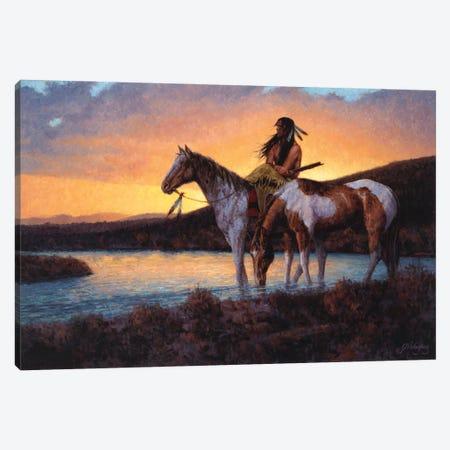 As Day Surrenders Canvas Print #JVL12} by Joe Velazquez Canvas Artwork