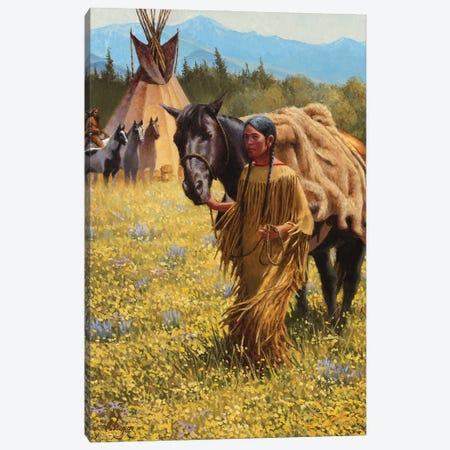 Gentle Summer Canvas Print #JVL28} by Joe Velazquez Canvas Art Print