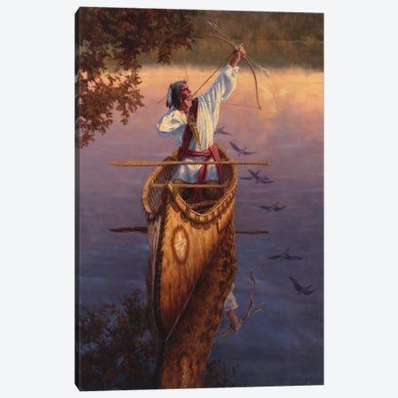 He Hunts The Sky Canvas Print #JVL30} by Joe Velazquez Canvas Art