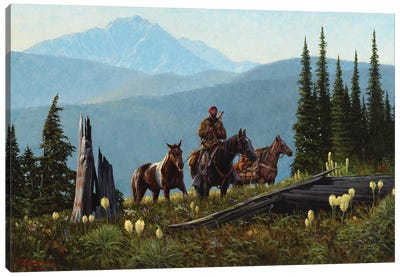 Journey From The Far North Canvas Art Print