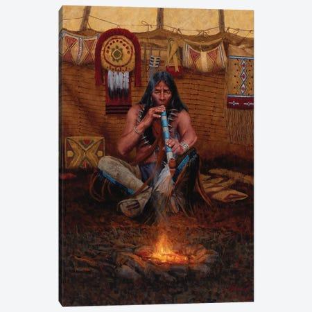 Meditation Canvas Print #JVL43} by Joe Velazquez Art Print