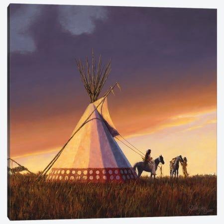 New Family - New Lodge Canvas Print #JVL44} by Joe Velazquez Canvas Artwork
