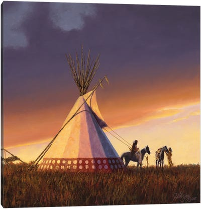 New Family - New Lodge Canvas Art Print