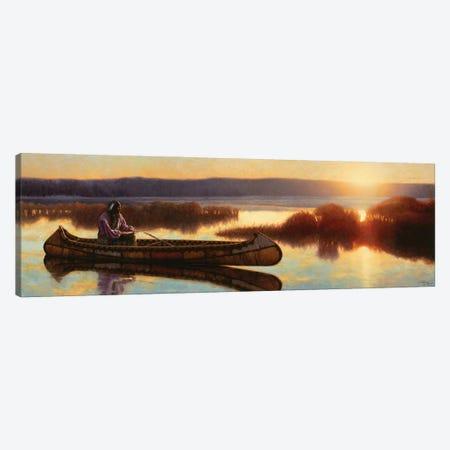 Ojibwe Dawn Canvas Print #JVL47} by Joe Velazquez Canvas Wall Art