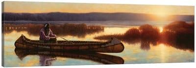Ojibwe Dawn Canvas Art Print