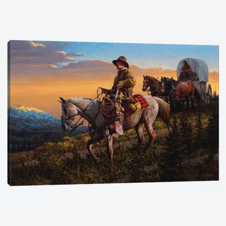 On Timberline Pass Canvas Print #JVL49} by Joe Velazquez Art Print