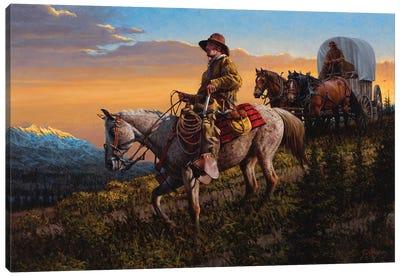 On Timberline Pass Canvas Art Print