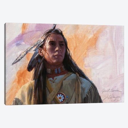 Quiet Leader Canvas Print #JVL54} by Joe Velazquez Art Print