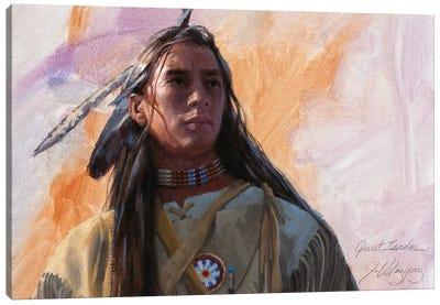 Quiet Leader Canvas Art Print