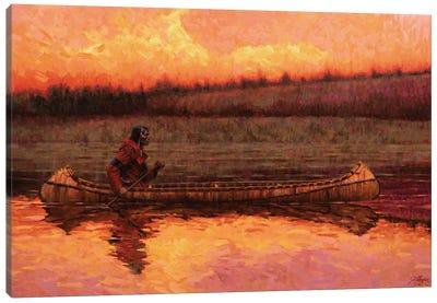 Quiet Splendor Canvas Art Print