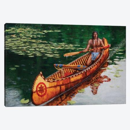 Reflections In The Stillness Canvas Print #JVL58} by Joe Velazquez Canvas Wall Art