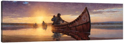 Reflections Of A Journey Canvas Art Print