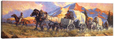 Rolling With The Big Teams Canvas Art Print
