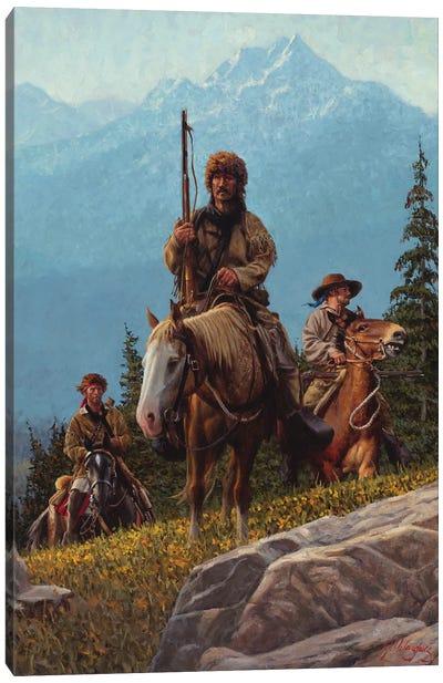 Rugged Paradise Canvas Art Print
