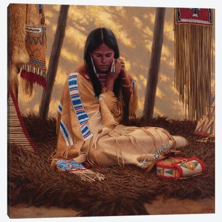 She Will Shine At The Dance Canvas Print #JVL65} by Joe Velazquez Canvas Art