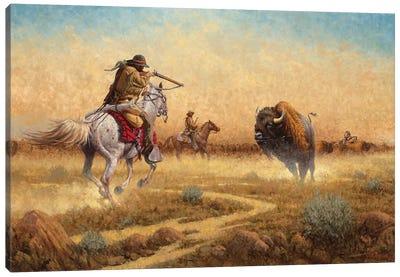 Showdown Canvas Art Print