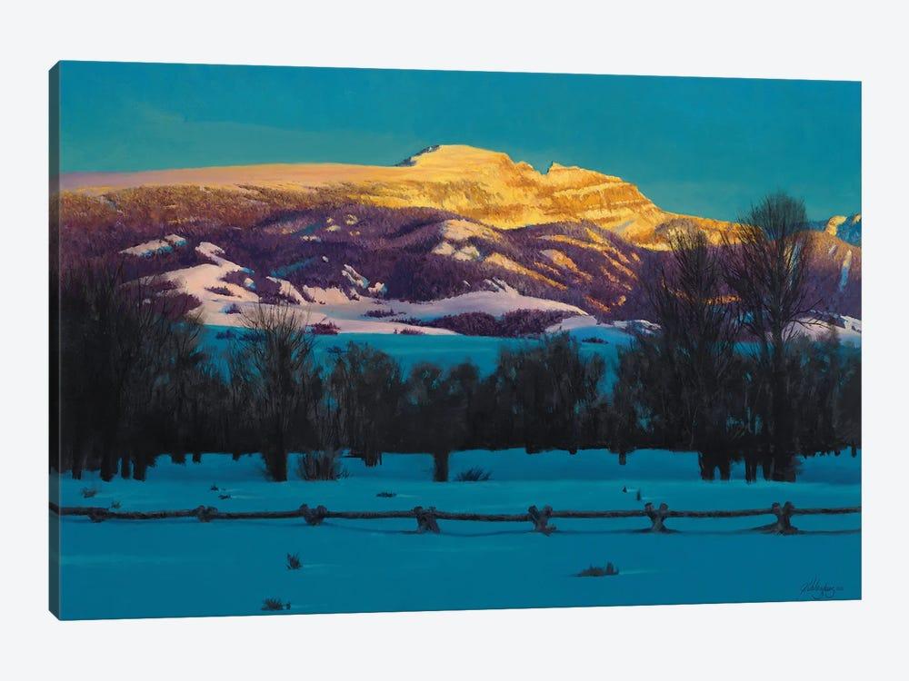 Sleeping Indian Mountain by Joe Velazquez 1-piece Canvas Art