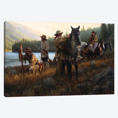 Snake River Expedition Canvas Print #JVL68} by Joe Velazquez Canvas Art Print