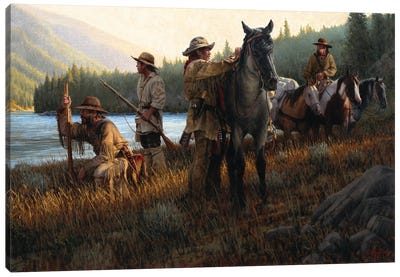 Snake River Expedition Canvas Art Print