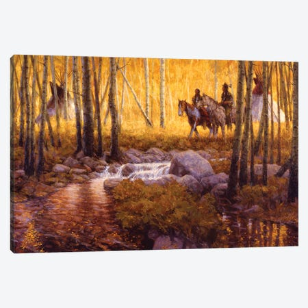 Stand Of Gold Canvas Print #JVL70} by Joe Velazquez Canvas Artwork