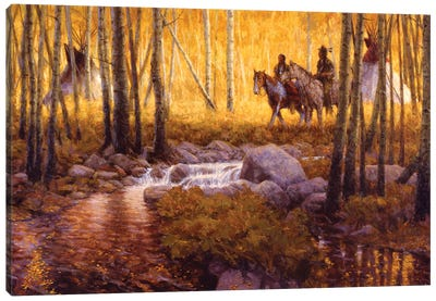 Stand Of Gold Canvas Art Print
