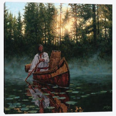 The Bark Gatherer Canvas Print #JVL73} by Joe Velazquez Canvas Artwork