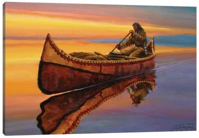 The Calm Of Twilight Canvas Art Print