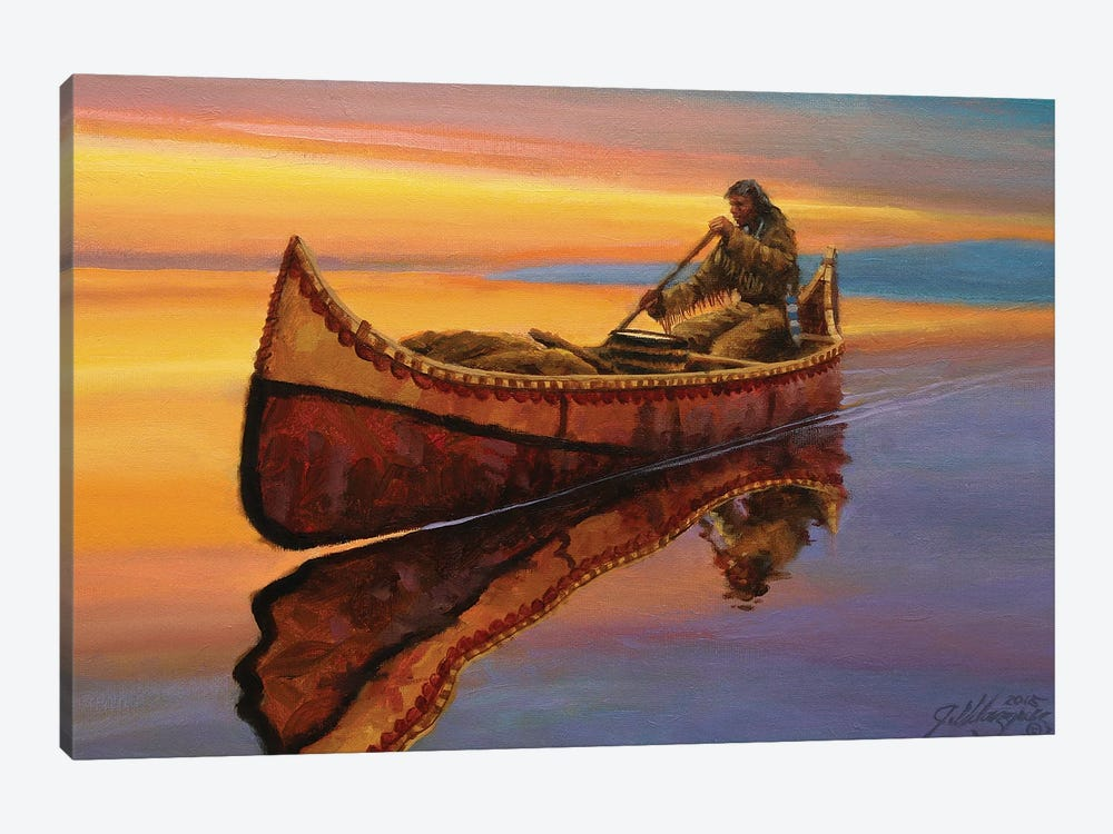 The Calm Of Twilight by Joe Velazquez 1-piece Canvas Wall Art