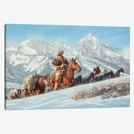 The Mountain Men Canvas Print #JVL76} by Joe Velazquez Art Print