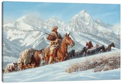 The Mountain Men Canvas Art Print