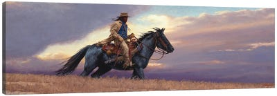 The Scout Canvas Art Print