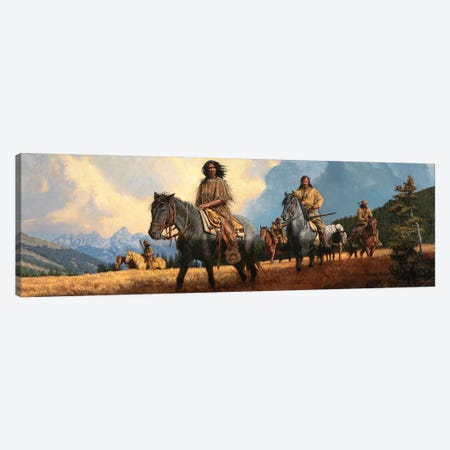 The Shoshone Way Canvas Print #JVL81} by Joe Velazquez Canvas Art Print