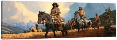 The Shoshone Way Canvas Art Print