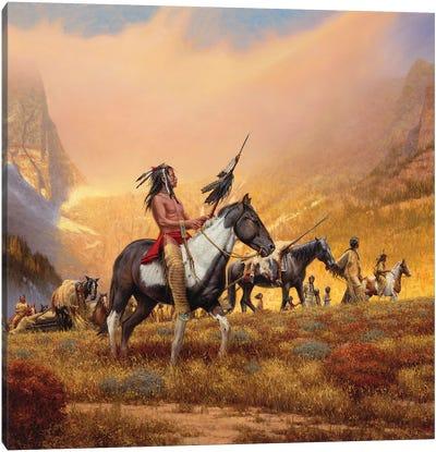 The Way Of Their Ancestors Canvas Art Print