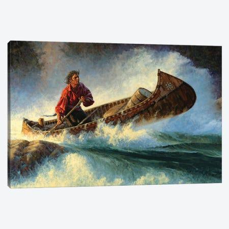 Threading The Needle Canvas Print #JVL85} by Joe Velazquez Canvas Artwork