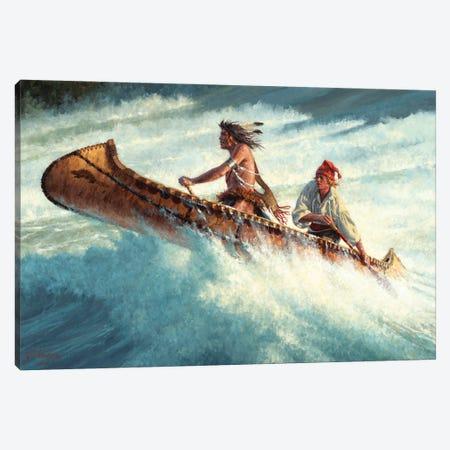 Through The Rage And The Roar Canvas Print #JVL86} by Joe Velazquez Canvas Artwork