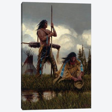 Together Canvas Print #JVL88} by Joe Velazquez Canvas Print