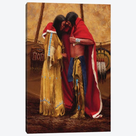 Two Become One Canvas Print #JVL91} by Joe Velazquez Canvas Artwork