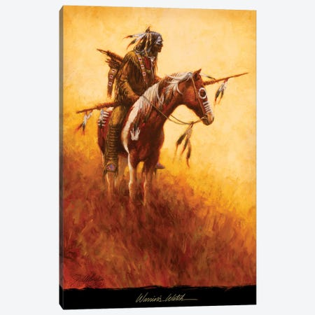 Warrior's Watch Canvas Print #JVL93} by Joe Velazquez Canvas Wall Art