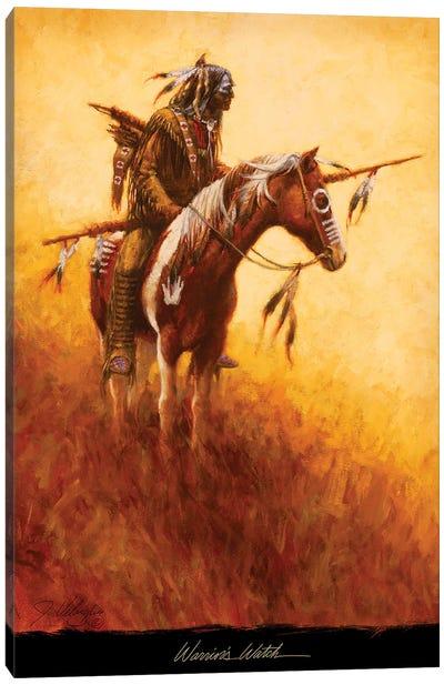 Warrior's Watch Canvas Art Print