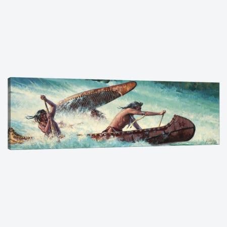 Wildwater Race Canvas Print #JVL95} by Joe Velazquez Canvas Print