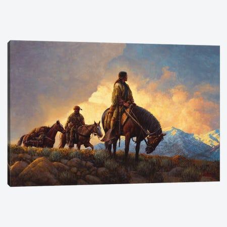 Approach Of A New Season Canvas Print #JVL9} by Joe Velazquez Canvas Art Print