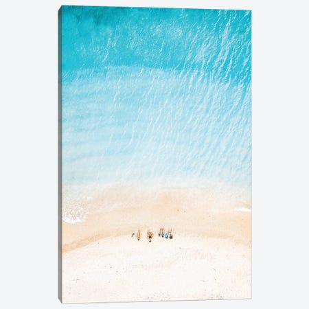 Beach People 3-Piece Canvas #JVO10} by James Vodicka Canvas Print