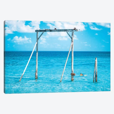 Ocean Gantry Great Barrier Reef Canvas Print #JVO116} by James Vodicka Canvas Art