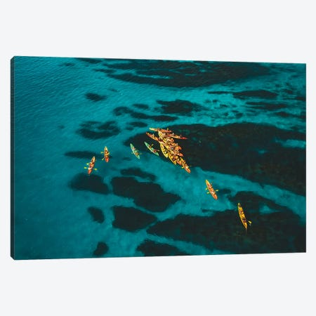 Ocean Kayaking Byron Bay Canvas Print #JVO119} by James Vodicka Canvas Art Print