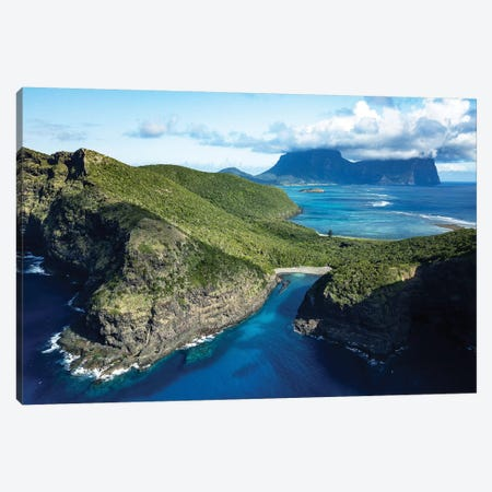 Old Gulch Island Aerial Canvas Print #JVO122} by James Vodicka Canvas Artwork