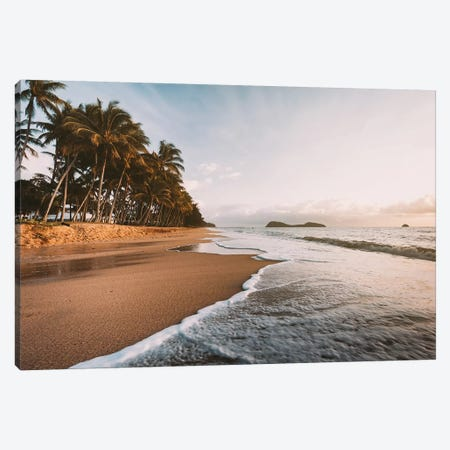 Palm Cove Golden Beach Sunrise Canvas Print #JVO127} by James Vodicka Canvas Print