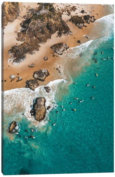 Point Break Byron Surfers Canvas Art Print