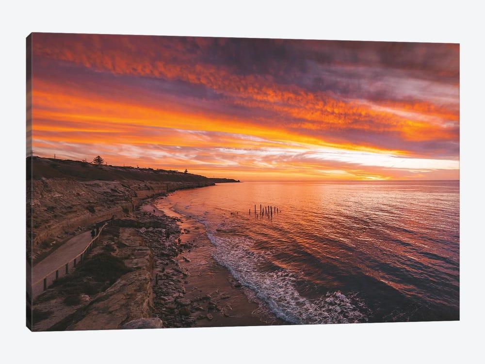 Port Wilunga Beach Sunset by James Vodicka 1-piece Art Print