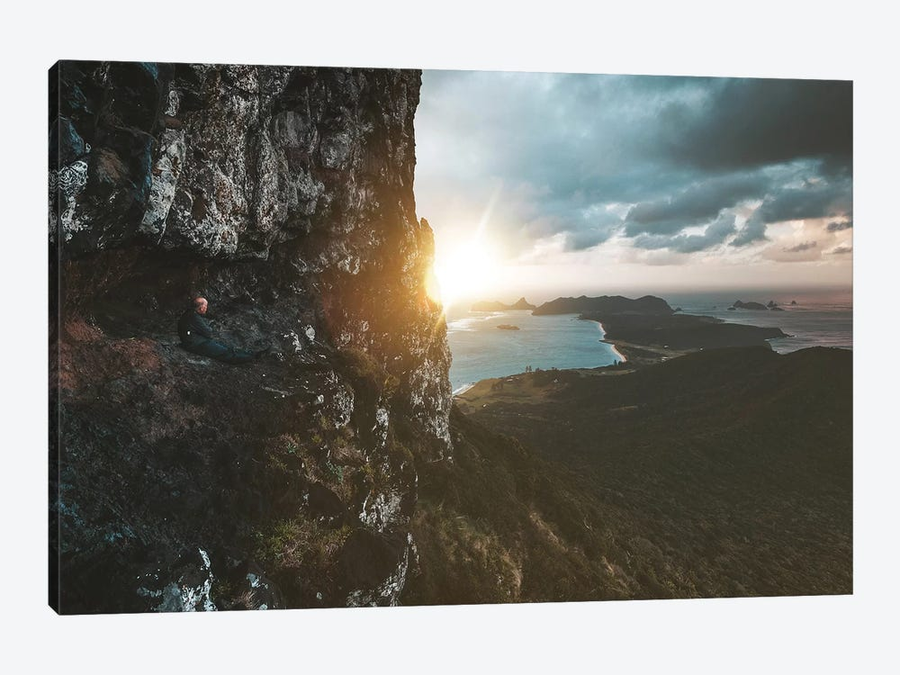 Rocky Island Lookout at Sunset by James Vodicka 1-piece Canvas Artwork